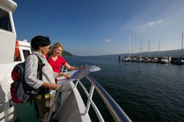 Wanderer an Bord
