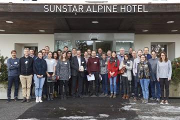 Die Teilnehmer des 4. Schweizer Tourismuscamps in Arosa