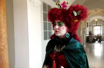 Begegnung mit Prinzessinnen im Neuen Schloss Kisslegg