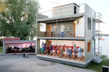 Open-Air-Musical am Seeufer