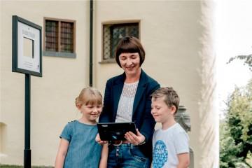 Medialer Erlebnisparcours im Schloss Aulendorf