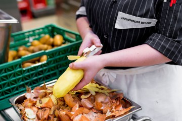 Gemüse aus der Region wird auf dem Arenenberg frisch verarbeitet