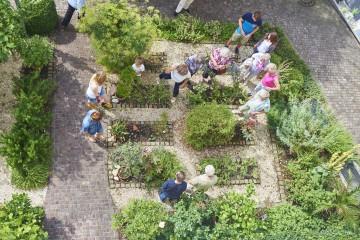 Der Kräutergarten der Bibelgalerie Meersburg
