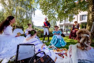 Kostümgruppe auf dem Arenenberg