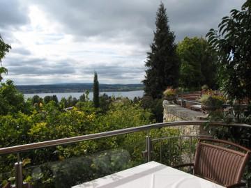 Aussicht vom Parkhotel St. Leonhard