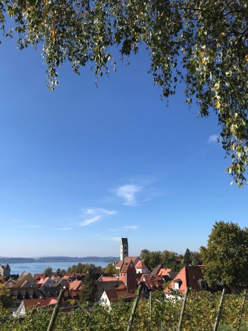 Blick vom Fürstenhäusle Meersburg