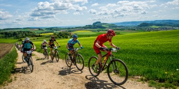 Mountainbiken im Hegau