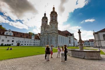 Ausflug zum Stiftsbezirk St. Gallen
