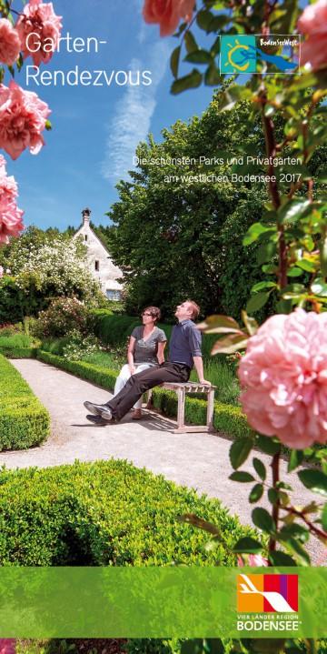 Titelbild der Broschüre «Garten-Rendezvous»