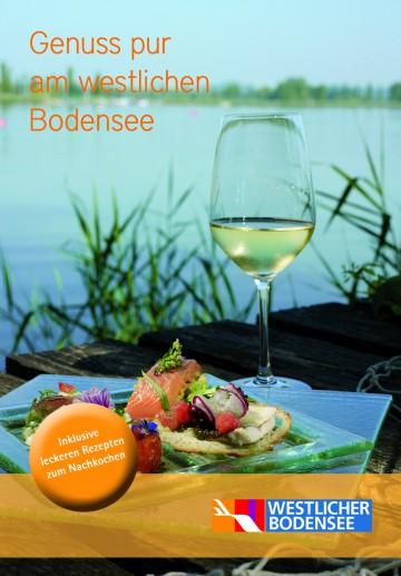 Titelbild der Broschüre «Genuss pur am westlichen Bodensee»