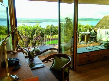 Zimmer mit Aussicht im Hotel Gasthaus Hirschen