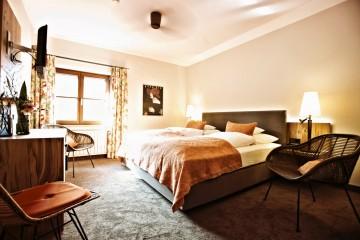 Ein Zimmer im Stammhaus des Hotel Gasthaus Hirschen