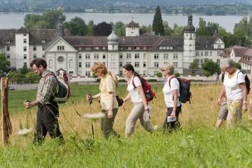 Nordic Walking-Ausflug am Kloster Hegne