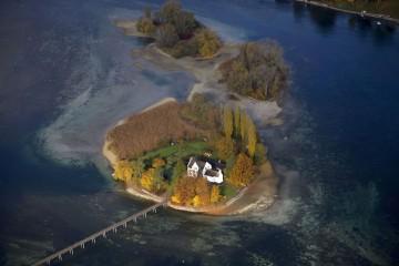 Die Insel Werd bei Stein am Rhein