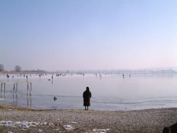 Der Gnadensee im Winter