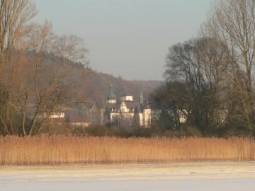 Das winterliche Kloster Hegne