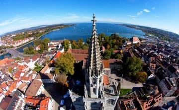 Das Konstanzer Münster von oben