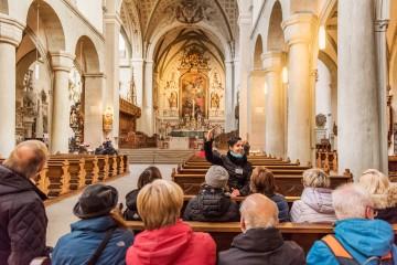 Innenansicht des Konstanzer Münsters