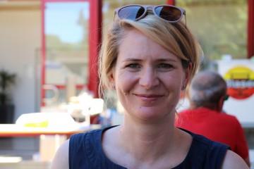 Arenenberg-Besucherin Katharina Schlude