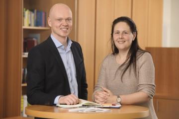 Markus Cordemann und Katrin Gergen-Woll
