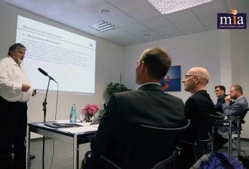 mia Ideen-Präsentation vor der Fachjury /  mia ideas presentation in front of the expert jury