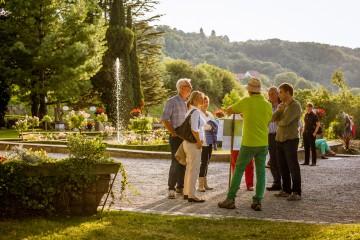 Abendführung durch die neue «Arenenberger Gartenwelt»