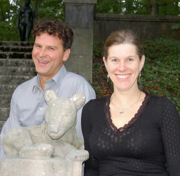 Die Musiker Ulrich Frey und Christine Baumann