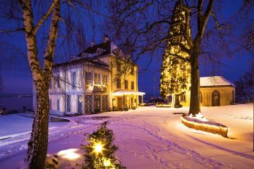 Arenenberg im Schnee