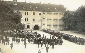 Mobilmachung in der Klosterkaserne