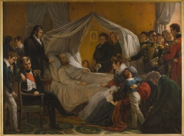Vor seinem Tod: Napoleon im Sterbebett