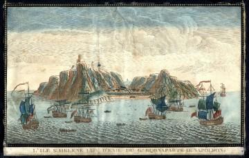 Blick auf die Insel St. Helena