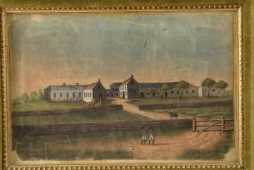 Die Außenanlage und Haus Longwood