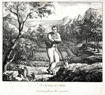 Napoleon als Gärtner