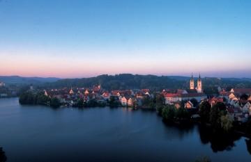 Liebliche Landschaft in Oberschwaben und im Württembergischen Allgäu