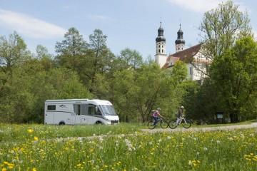 Im Reisemobil die Oberschwäbische Barockstraße entdecken