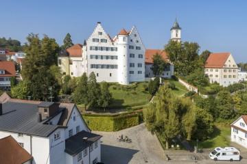 Blick auf Schloss Aulendorf
