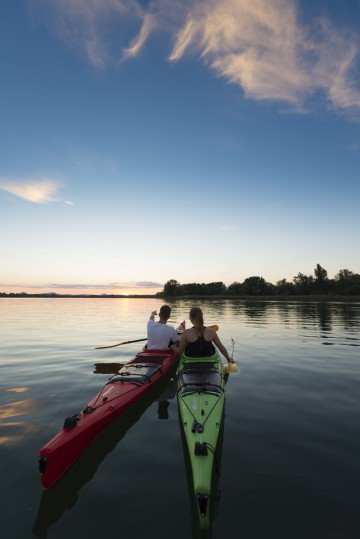 Mit dem Kanu die Natur erkunden