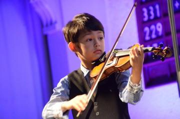 Nachwuchsmusiker spielen in der Lutherkirche