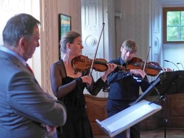 """Vortrag und Musik """"Wunderkinder – Mozart und Mendelsohn begegnen sich"""""""