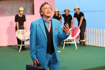 Adrian Furrer spielt Gottlieb Biedermann