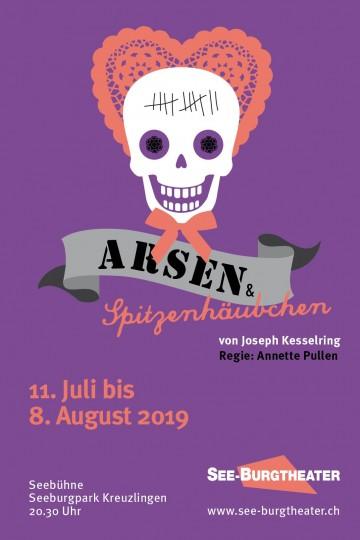 Plakat zu «Arsen und Spitzenhäubchen»