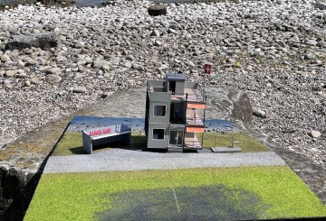 Ein Schweizer Wohnblock als Drehbühne