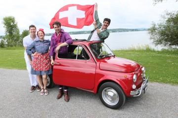 Francesco Grimolli möchte den Schweizer Pass.