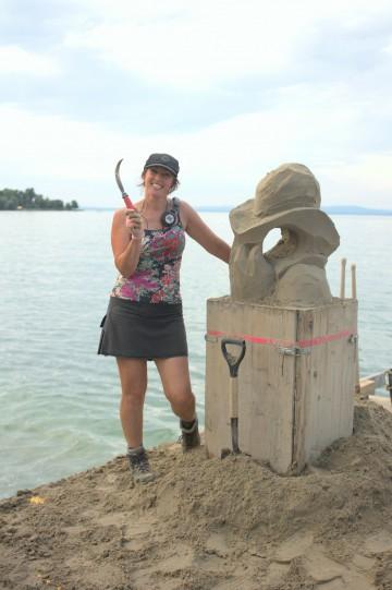 Sandskulpteure sind Bildhauer