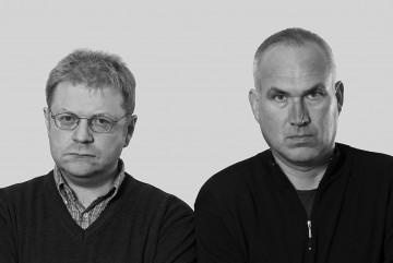Die beiden Karikaturisten Achim Greser und Heribert Lenz