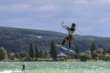 Kite-Surfen am Untersee