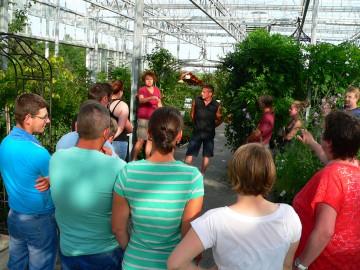 Gärtnereiführung auf der Insel Reichenau
