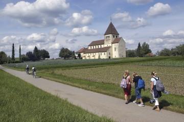 Vier-Gänge-Wanderung auf der Insel Reichenau