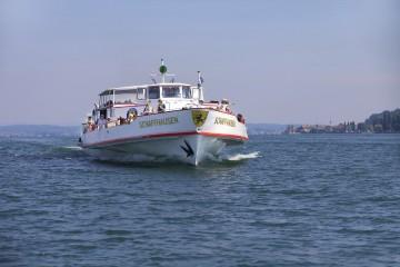 Kursschiff der Schweizerischen Schifffahrtsgesellschaft Untersee und Rhein
