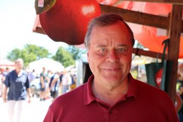Besucher Werner Fritschi